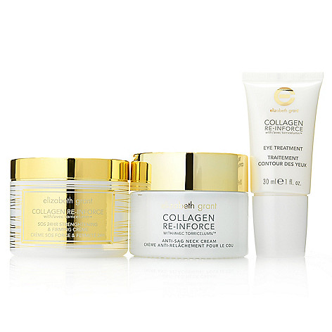 305-641 - Elizabeth Grant Super Size Three-Piece Neck Cream, SOS Cream & Eye Treatment Kit