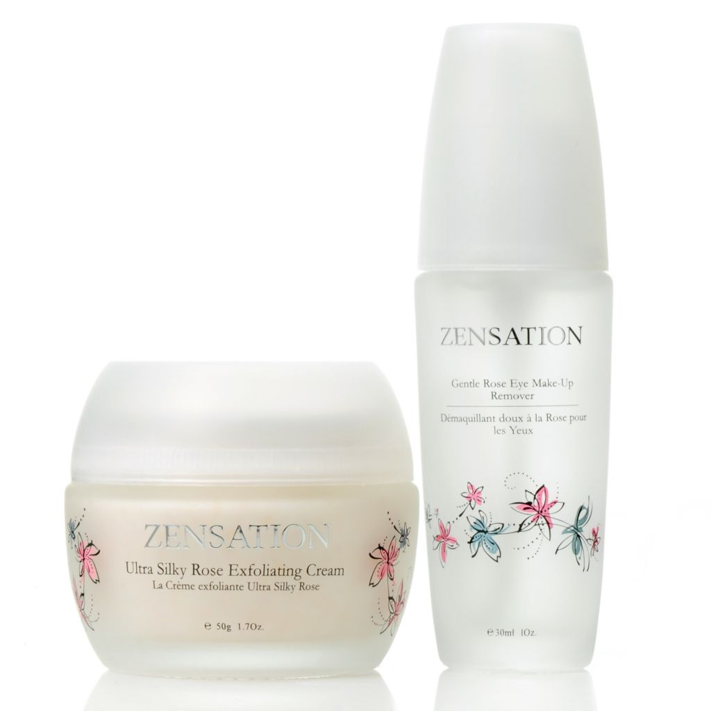 305-673 - ZENSATION® Exfoliating Cream & Eye Makeup Remover Duo