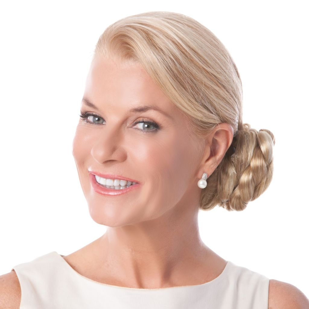 "305-684 - Toni Brattin®4.5"" Elegant & Sophisticated Clip-on Braided Chignon"
