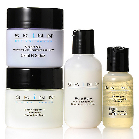 305-692 - Skinn Cosmetics Four-Piece Pore Refining Skincare Collection