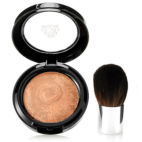 305-755 - Borghese Two-Piece ''All Over'' Splendore Baked Bronzer w/ Kabuki Brush