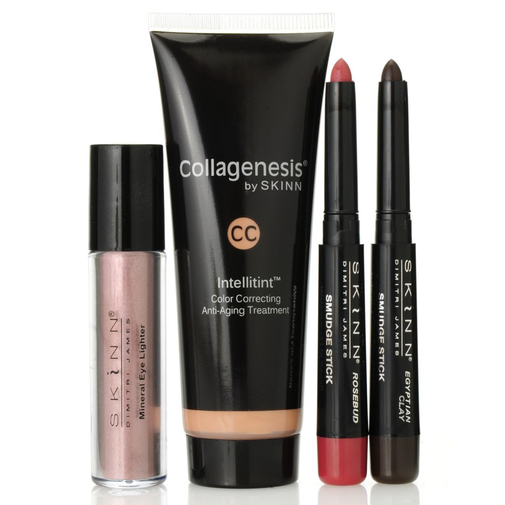 "305-789 - Skinn Cosmetics Four-Piece ""CC the Difference"" Collection"