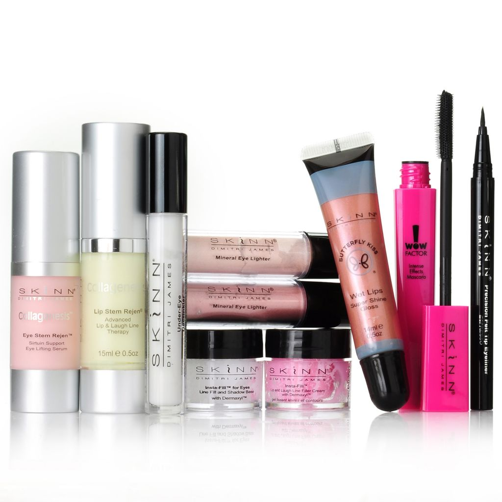 "305-796 - Skinn Cosmetics 10-Piece Collagenesis ""Double Duty"" Collection"