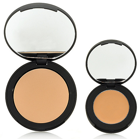 305-814 - Suzanne Somers Organics Perfect Finish Concealer & Sheer Pressed Powder Duo