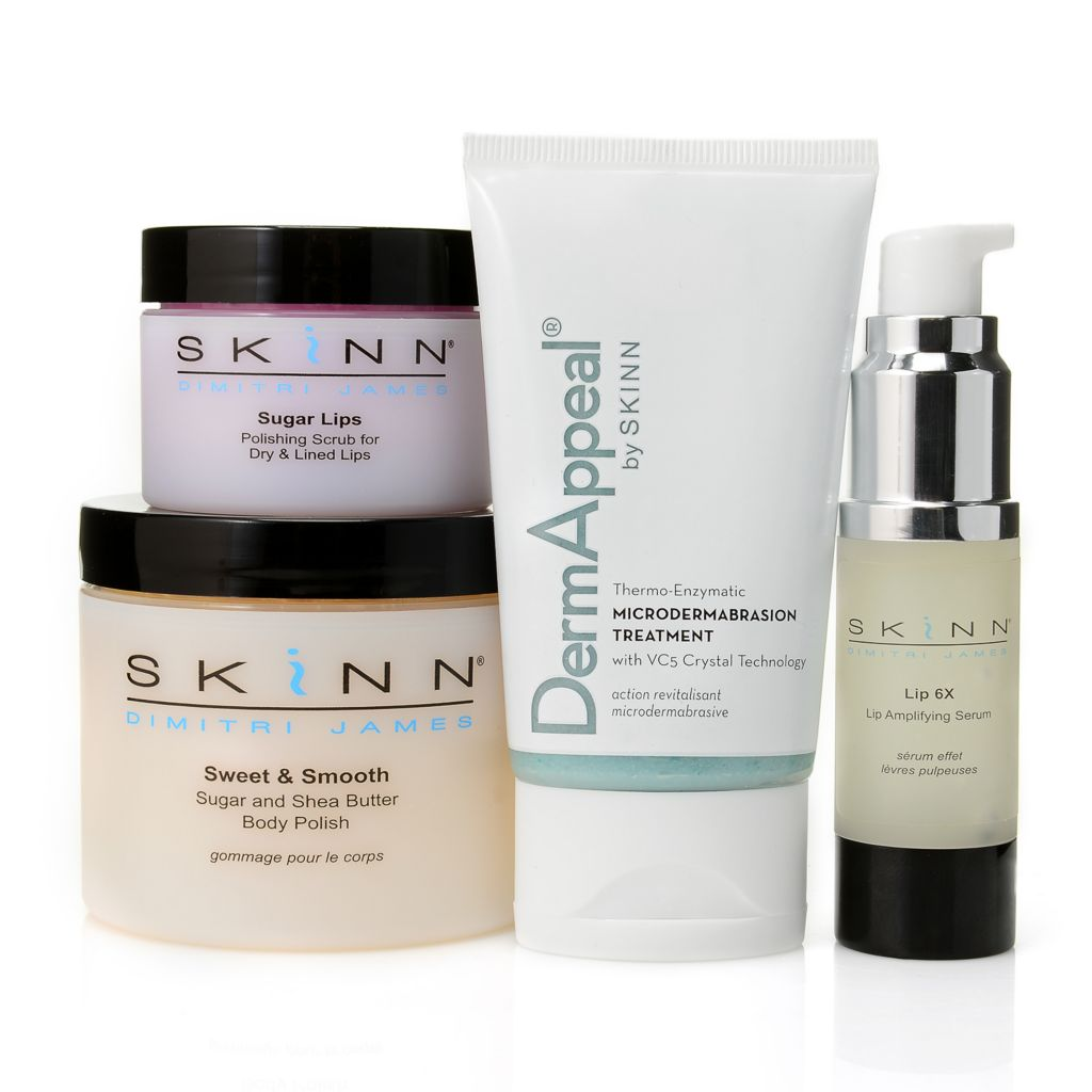 "305-868 - Skinn Cosmetics Four-Piece ""Silky Smooth & Sweet"" Kit"