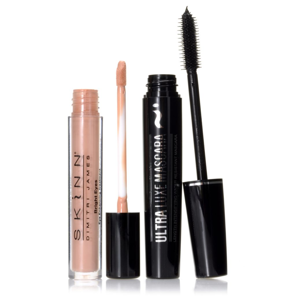305-877 - Skinn Cosmetics Bright Eyes Treatment & Ultra Luxe Mascara Duo
