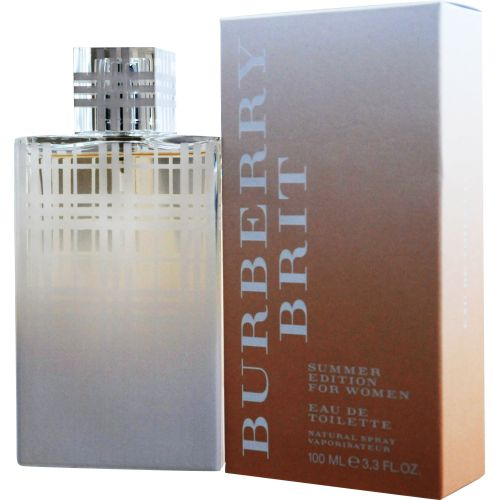 305-915 - Burberry Brit Women's Summer Eau De Toilette Spray 3.4 oz (EDITION 2012)