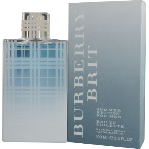 305-916 - Burberry Brit Men's Summer Eau De Toilette Spray - 3.4 oz (Edition 2012)