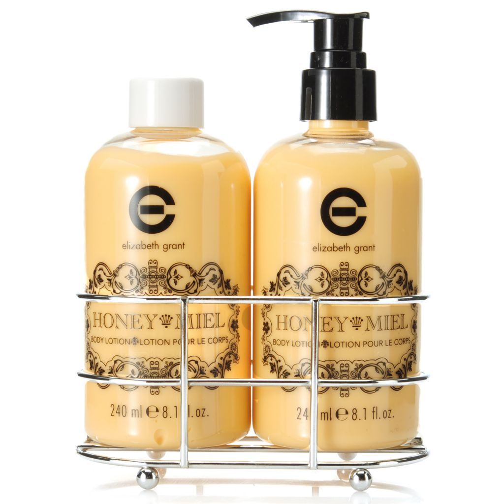 305-928 - Elizabeth Grant Honey Body Lotion Duo 8.1 oz Each