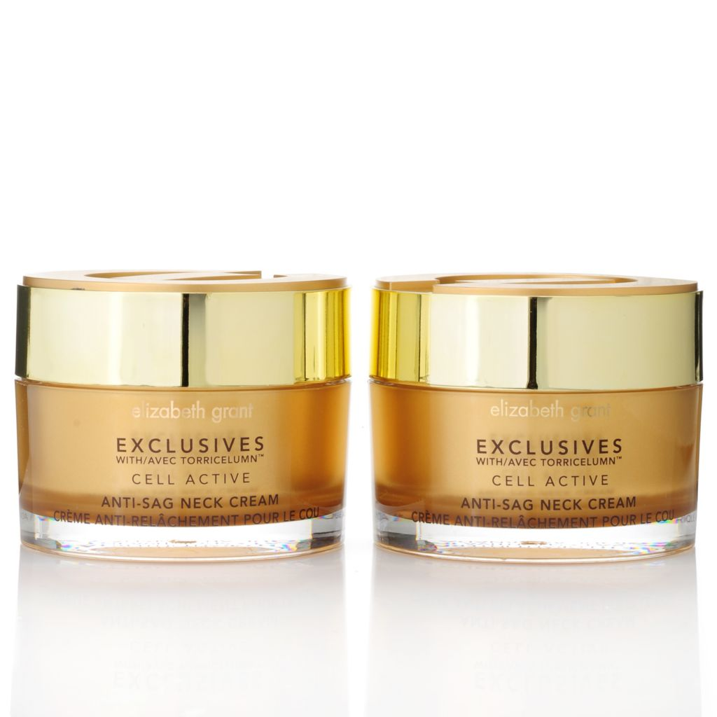 305-931 - Elizabeth Grant Exclusives Anti-Sag Neck Cream Duo 3.4 oz Each