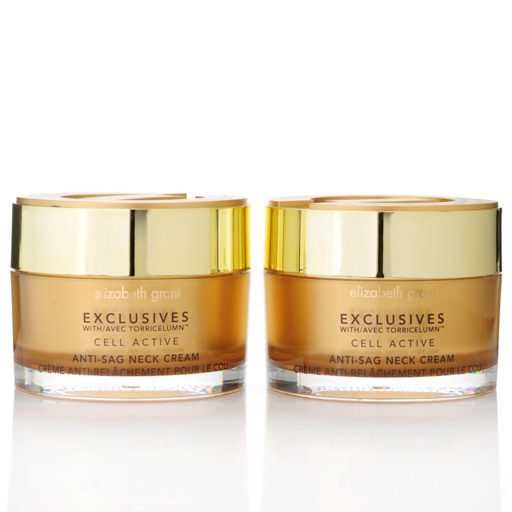 305-931 - Elizabeth Grant Exclusives Anti-Sag Neck Cream Duo 3.4 oz Each