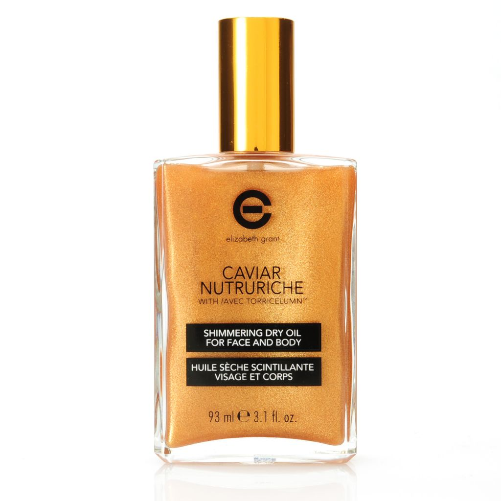 305-938 - Elizabeth Grant Caviar Nutruriche Shimmering Dry Oil for Face & Body 3.1 oz