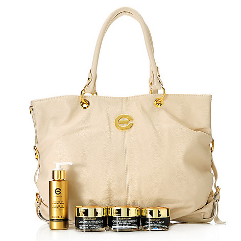 305-941 - Elizabeth Grant Four-Piece Caviar & Essence Skincare Kit w/ Handbag