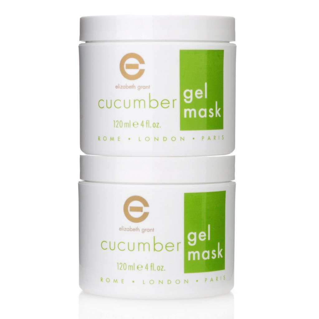 305-942 - Elizabeth Grant Cucumber Gel Mask Duo 4 oz Each