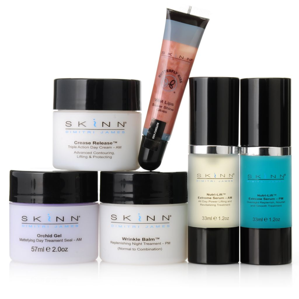 "305-980 - Skinn Cosmetics Six-Piece ""Total Treatment"" Skincare & Cosmetics Set"