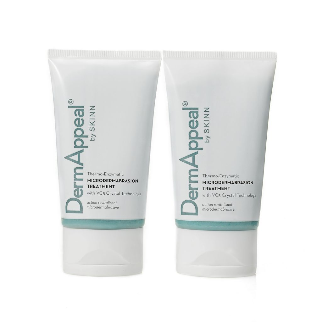 305-987 - Skinn Cosmetics DermAppeal Microdermabrasion Treatment Duo 2 oz Each