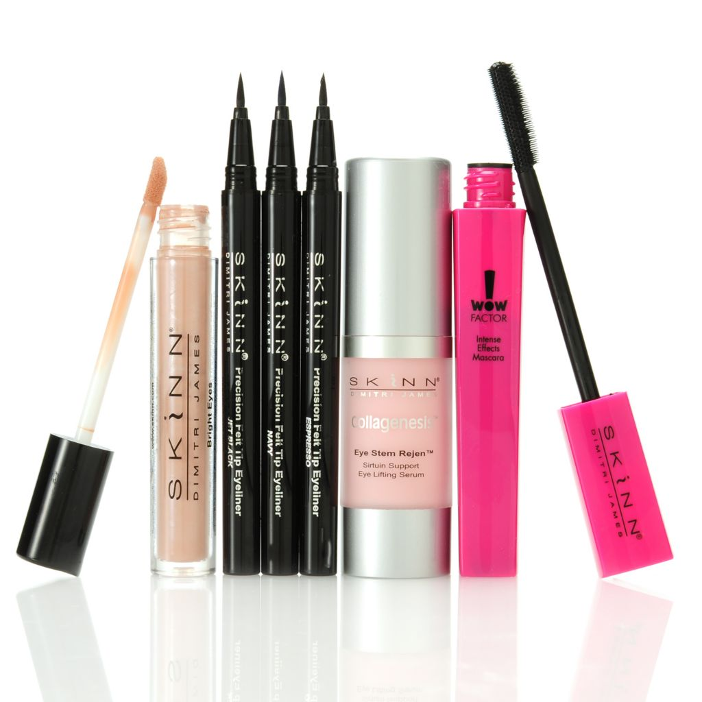 "305-990 - Skinn Cosmetics Six-Piece ""Divine & Daring Eyes"" Collection"