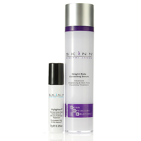 305-991 - Skinn Cosmetics Bright Side Serum & Hylighten Dark Circle & Puffiness Treatment Duo