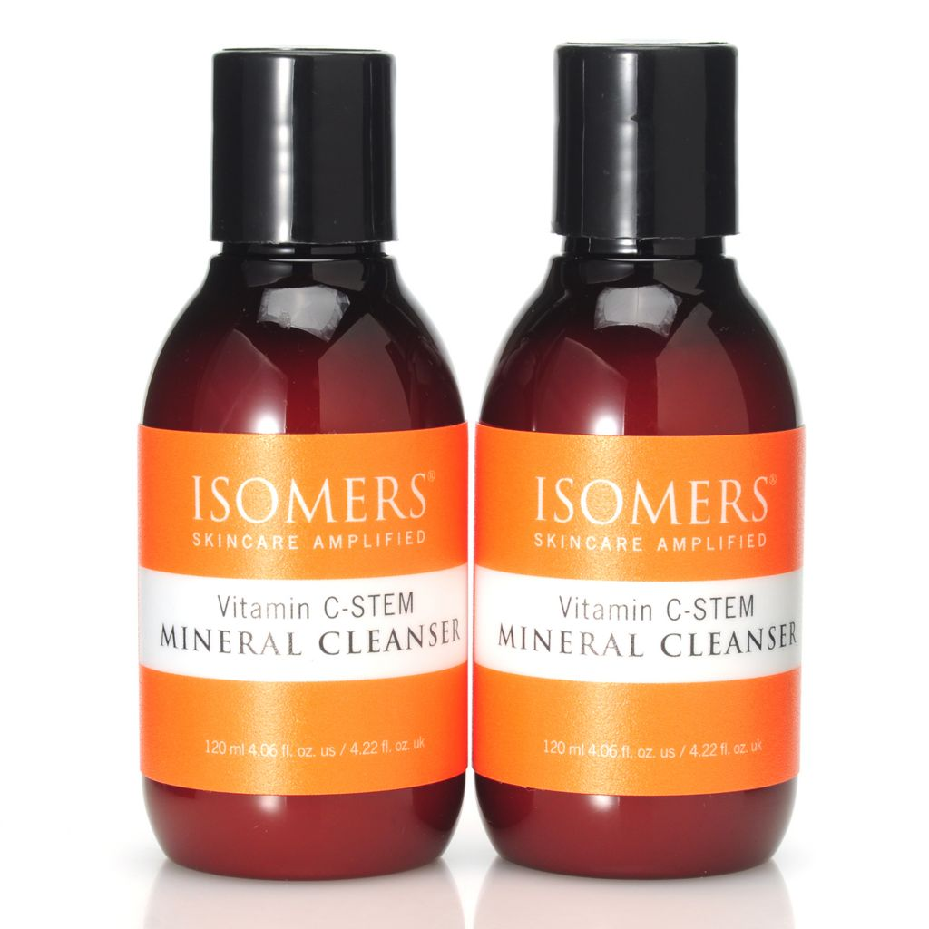 306-002 - ISOMERS® Vitamin C-STEM Mineral Cleanser Duo 4.06 oz Each
