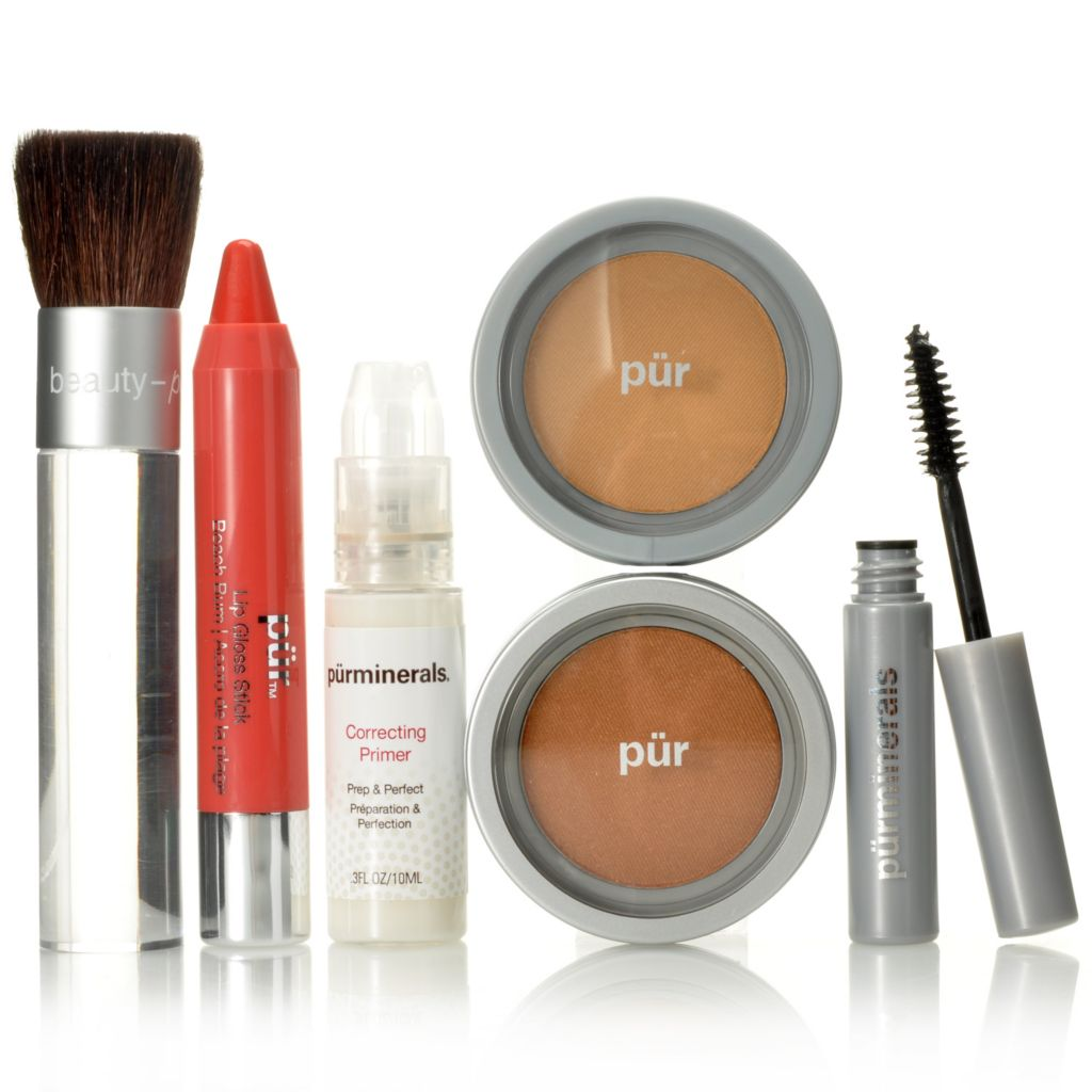 "306-003 - Pür Minerals Six-Piece ""Fresh Start"" Discovery Makeup Collection"