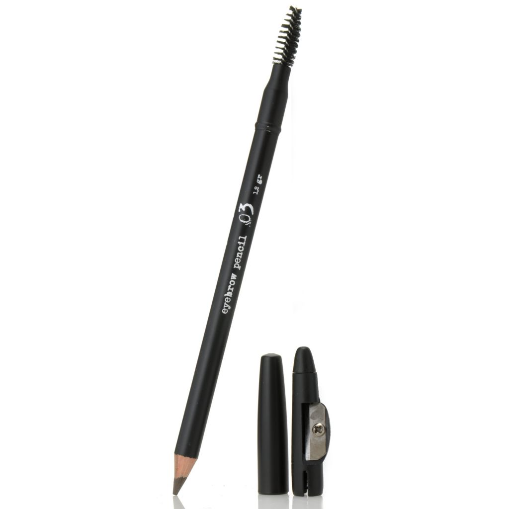306-032 - The BrowGal™ by Tonya Crooks Eyebrow Pencil & Brush Duo w/ Built-in Sharpener