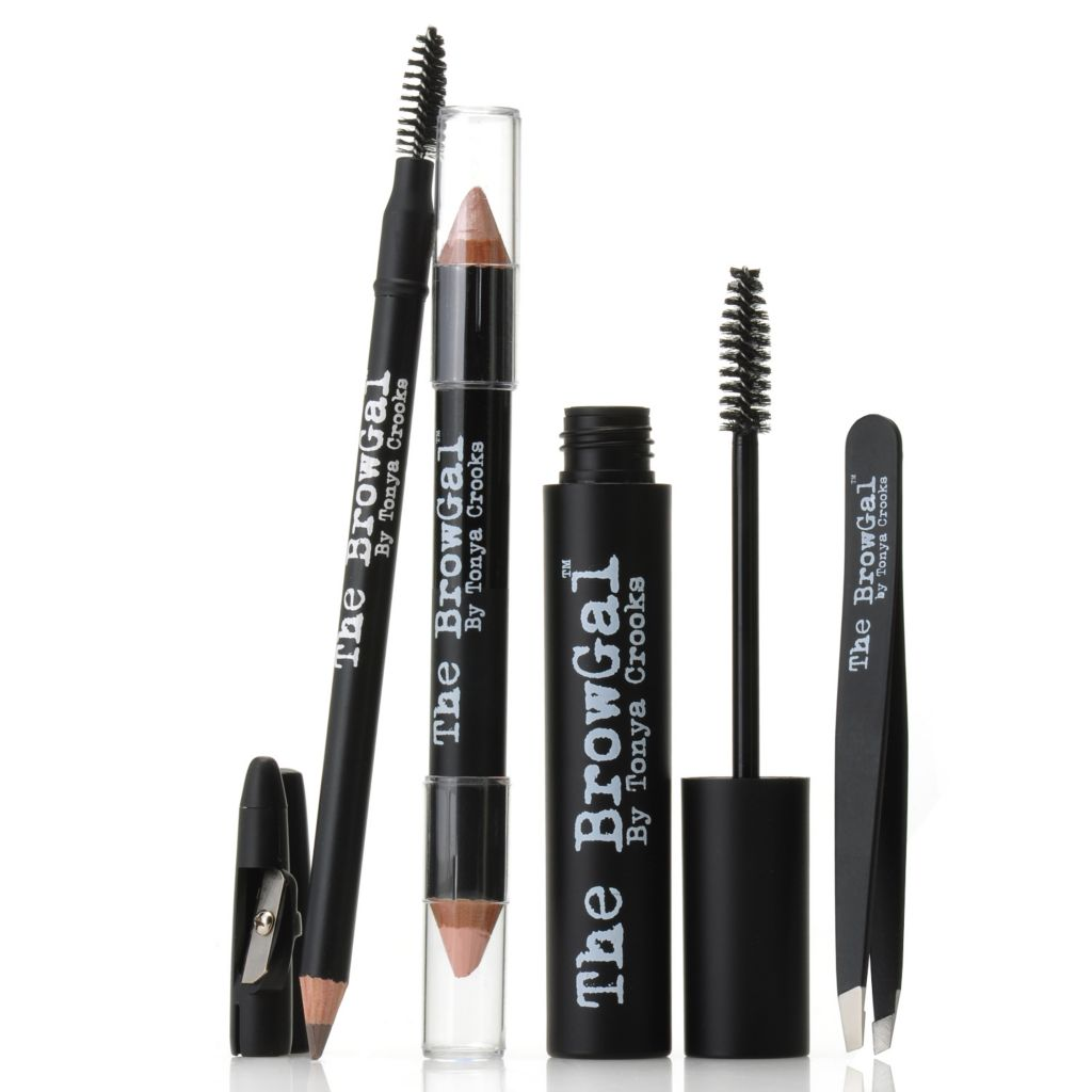 306-036 - The BrowGal™ by Tonya Crooks Four-Piece Eyebrow Collection