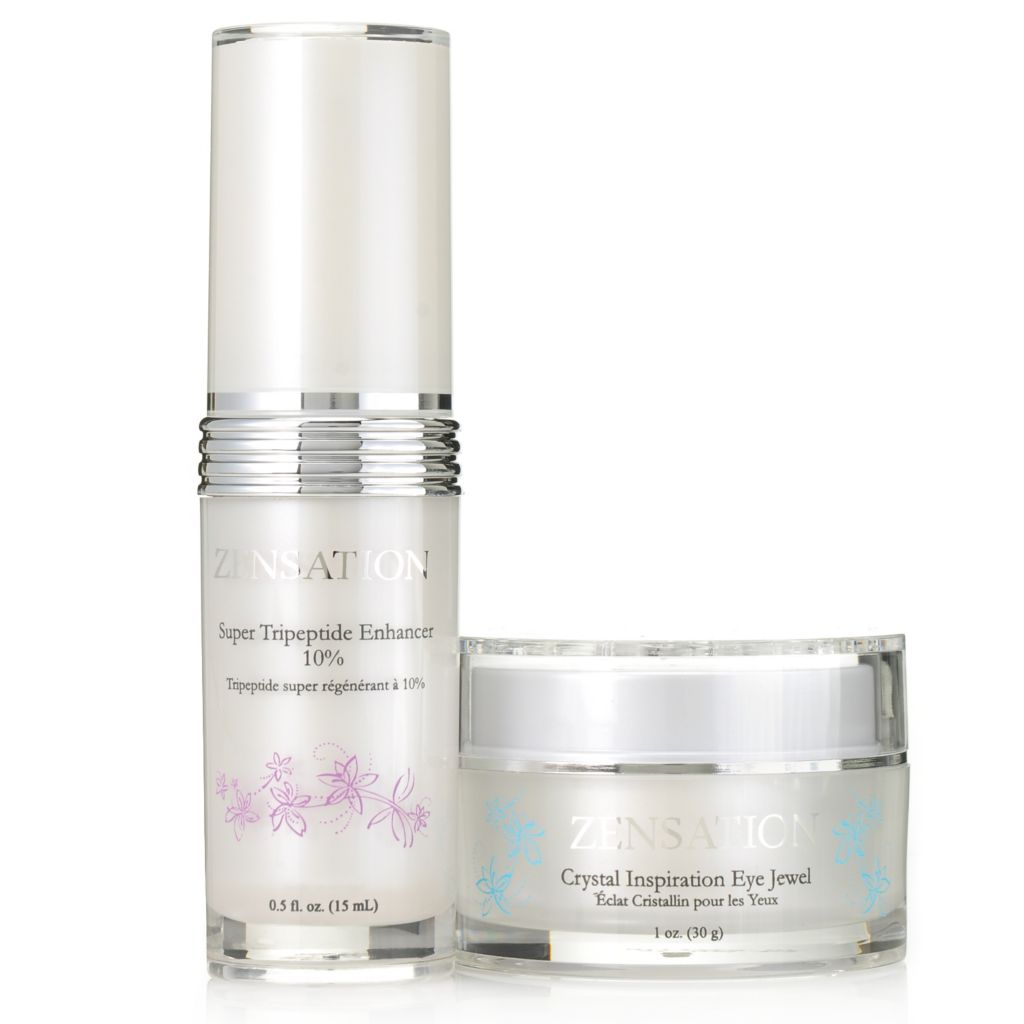 306-040 - ZENSATION® Super Tripeptide Enhancer & Crystal Inspiration Eye Jewel Duo