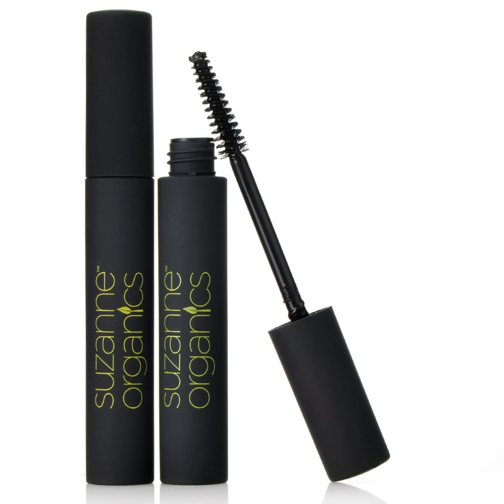306-052 - Suzanne Somers Organics Defining Mascara Duo .21 oz Each