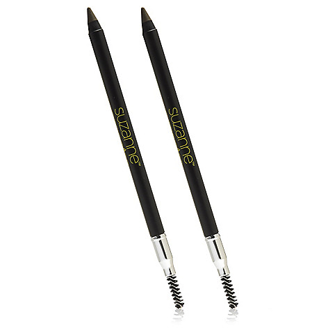306-055 - Suzanne Somers Organics Eyebrow Pencil Duo 0.08 oz Each