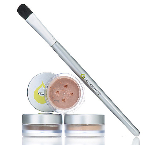 306-144 - Juice Beauty Four-Piece Illuminating Eye Colors & Eye Brush Collection