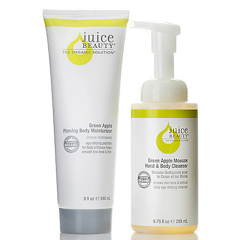 306-152 - Juice Beauty Green Apple Firming Body Moisturizer & Mousse Cleanser Duo