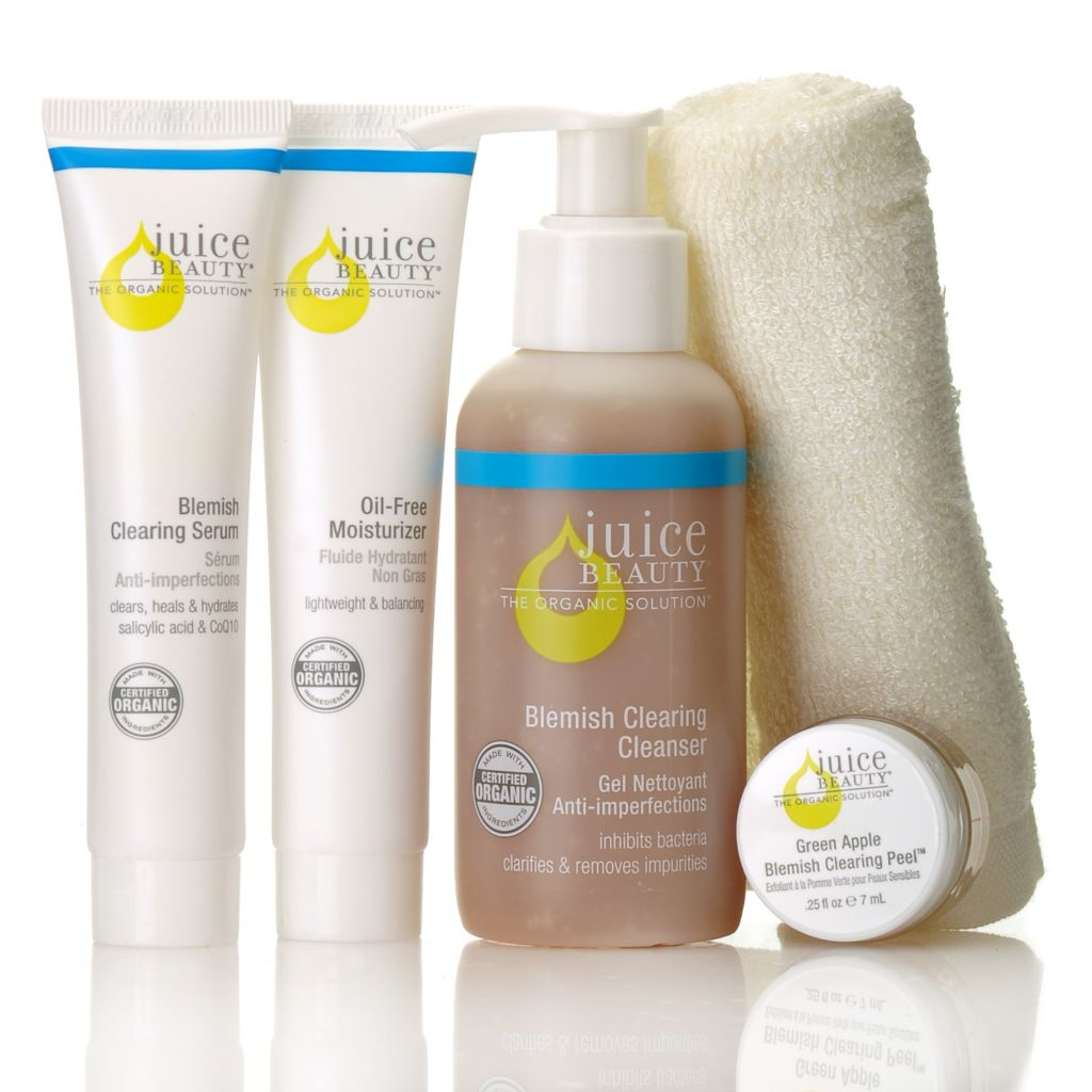 306-159 - Juice Beauty Four-Piece Organics to Clear Skin Kit