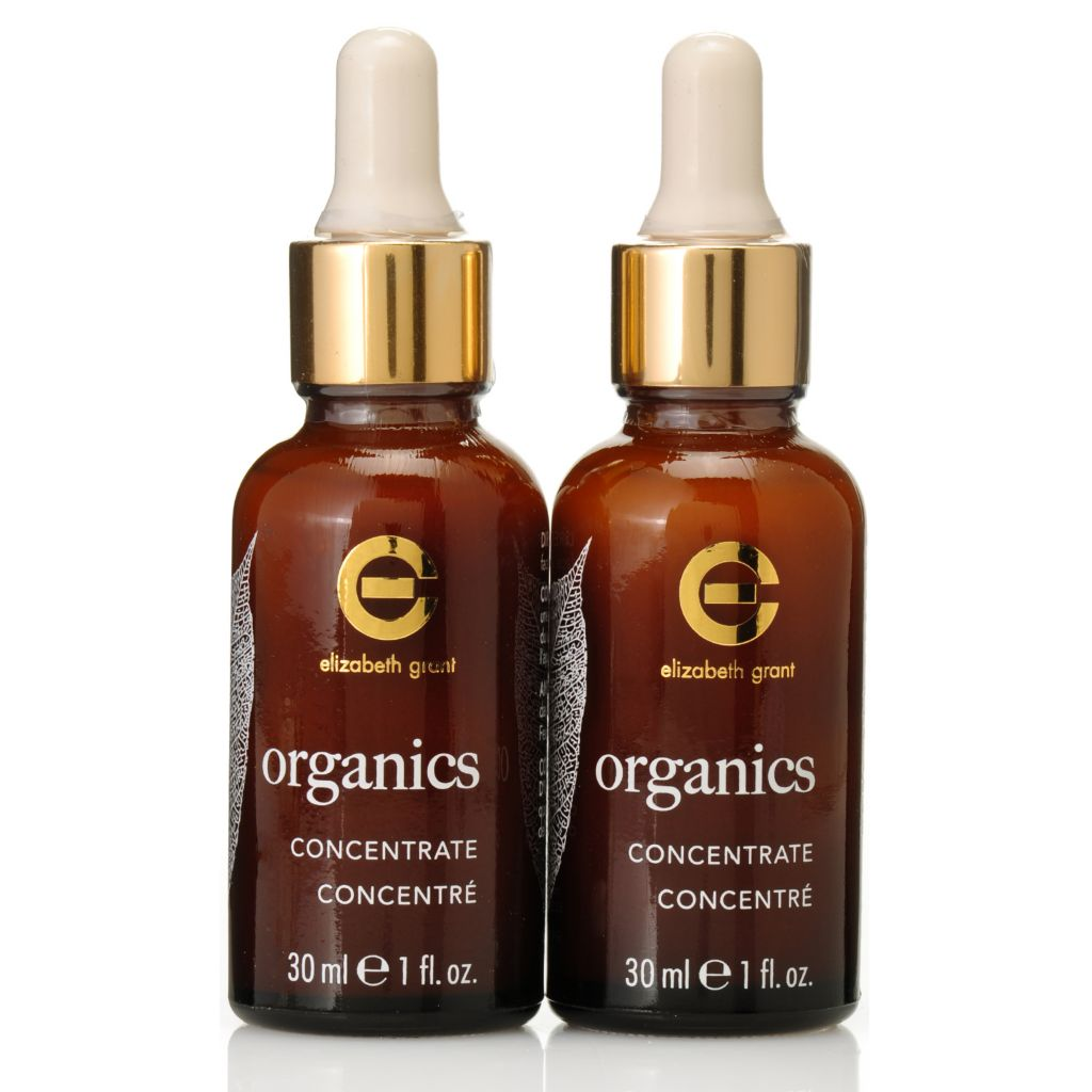 306-166 - Elizabeth Grant Organics Concentrate Duo 1 oz Each