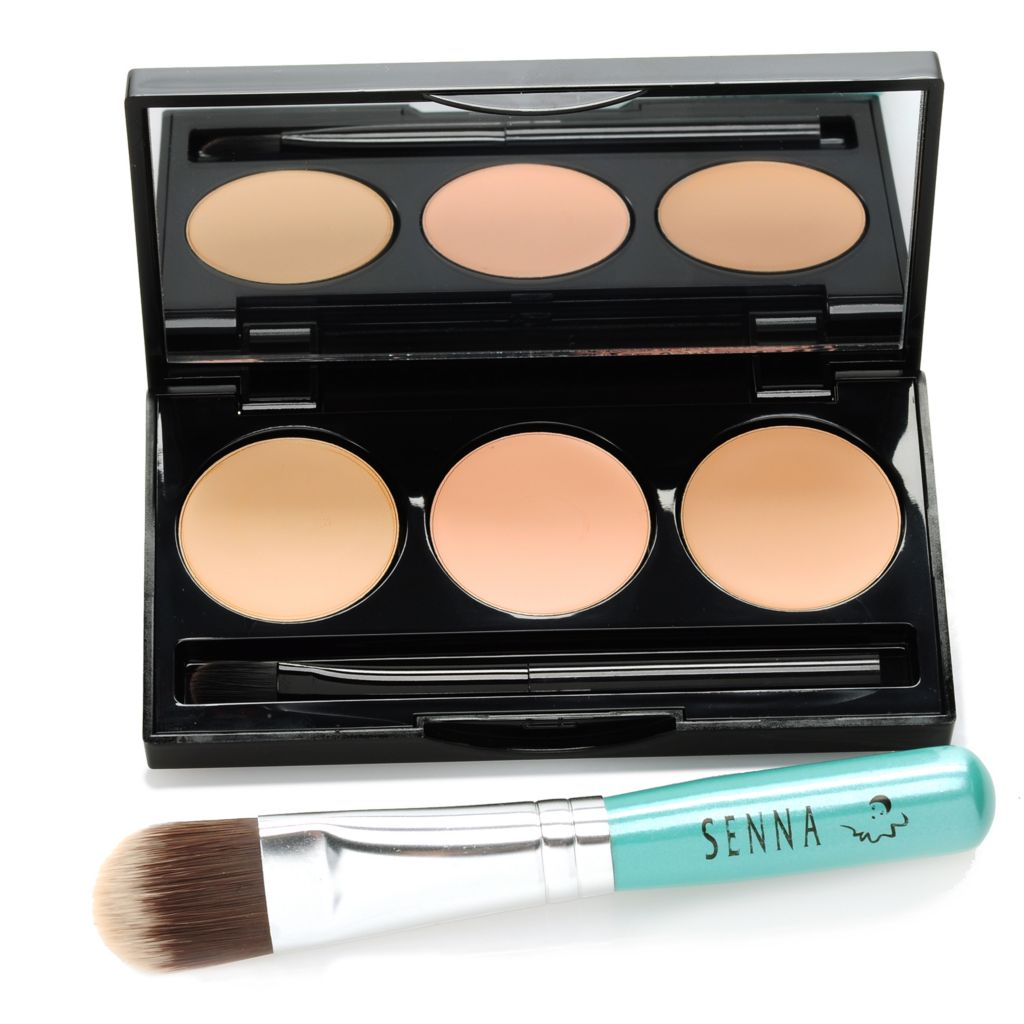 306-190 - SENNA HD Hydra-Cover Concealer Palette w/ Brush