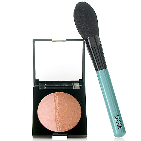 306-198 - SENNA Baked Mineral Bronze & Highlighter w/ Brush