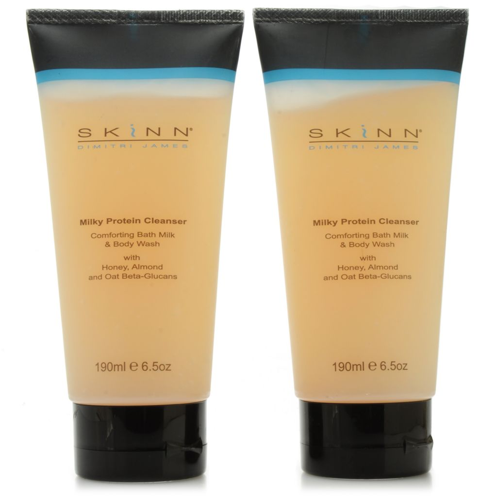306-235 - Skinn Cosmetics Milky Protein Cleanser Duo 6.5 oz Each