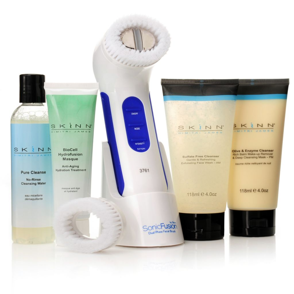 306-236 - Skinn Cosmetics Five-Piece SonicFusion Ultimate Cleansing Collection