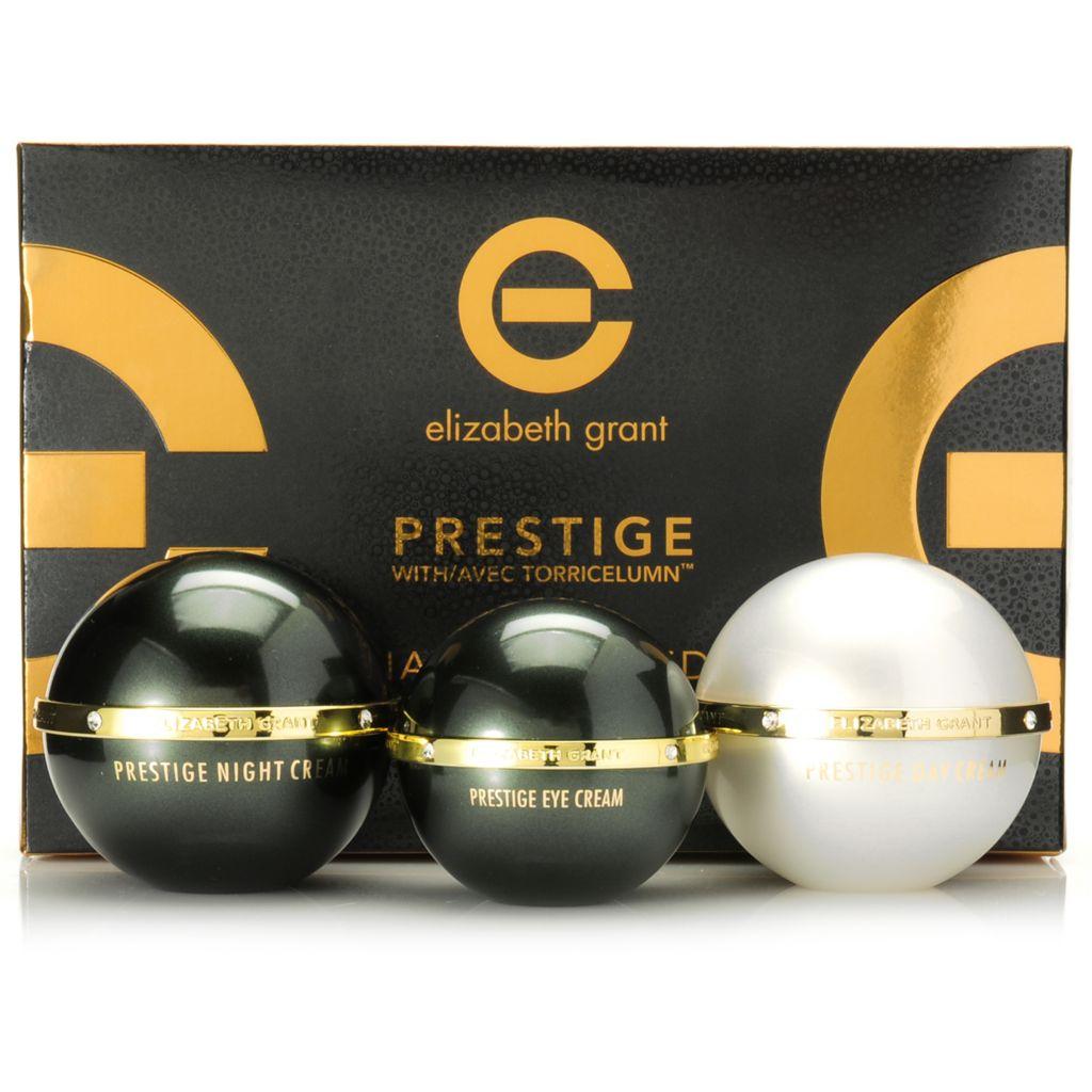 306-296 - Elizabeth Grant Three-Piece Prestige Tahitian Pearl Edition Day, Night & Eye Cream Kit