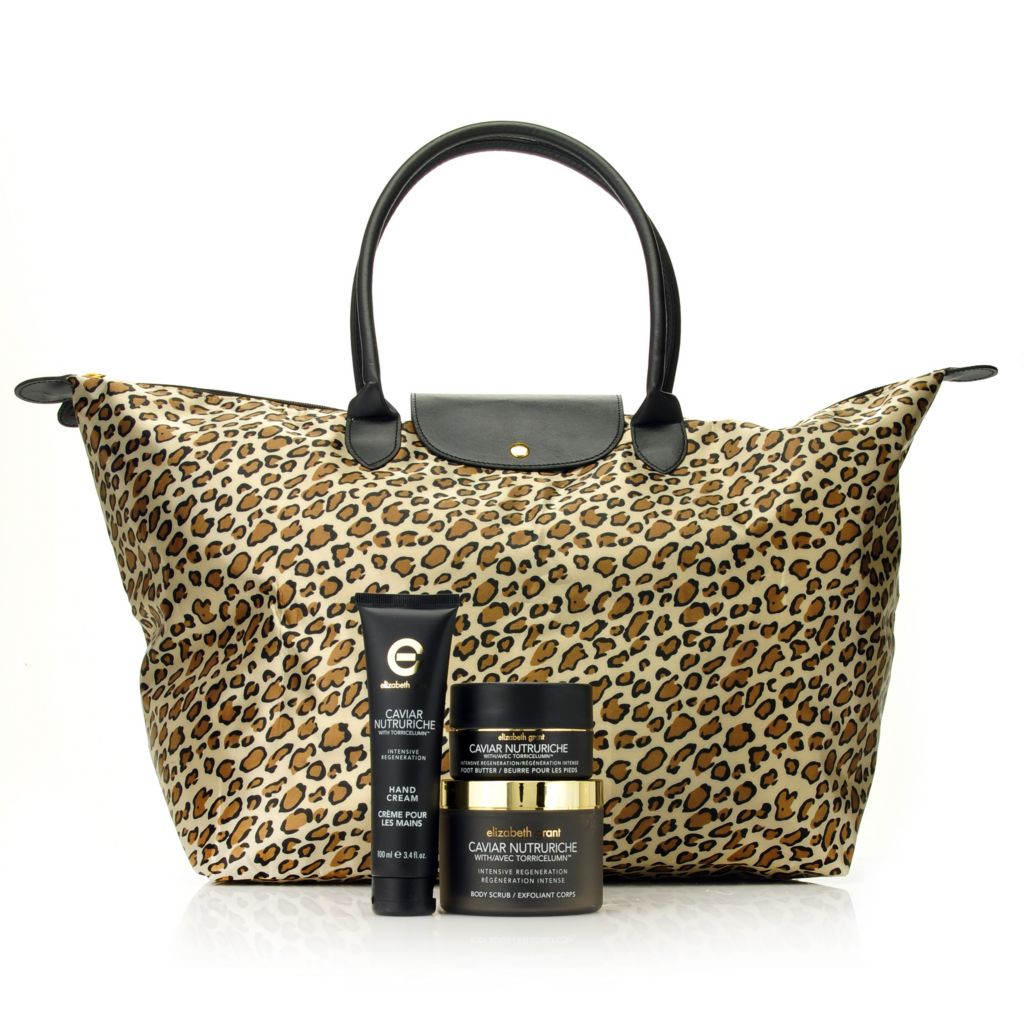 306-304 - Elizabeth Grant Three-Piece Caviar Nutruriche Collection w/ Travel Tote
