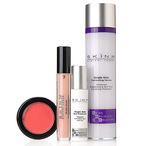 306-314 - Skinn Cosmetics Four-Piece ''Look on the Bright Side'' Collection