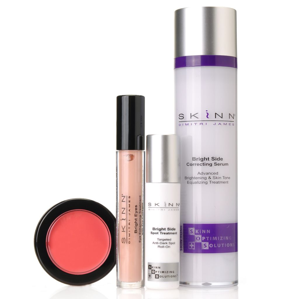 "306-314 - Skinn Cosmetics Four-Piece ""Look on the Bright Side"" Collection"