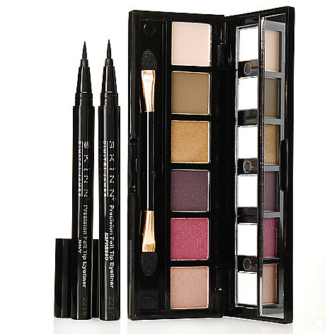 306-320 - Skinn Cosmetics Three-Piece Patina Eyeshadow & Precision Eyeliner Collection