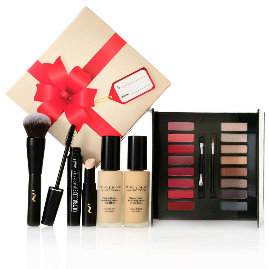 306-347 - Skinn Cosmetics Six-Piece Nourishing Foundation & Concealing Cosmetics Set