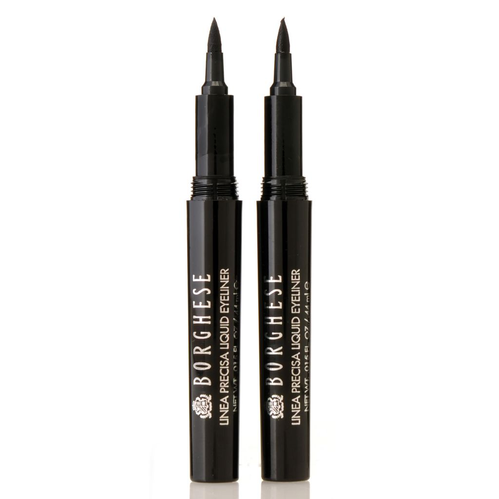 306-408 - Borghese Linea Precisa Felt-Tip Liquid Eye Liner Duo 0.015 oz Each