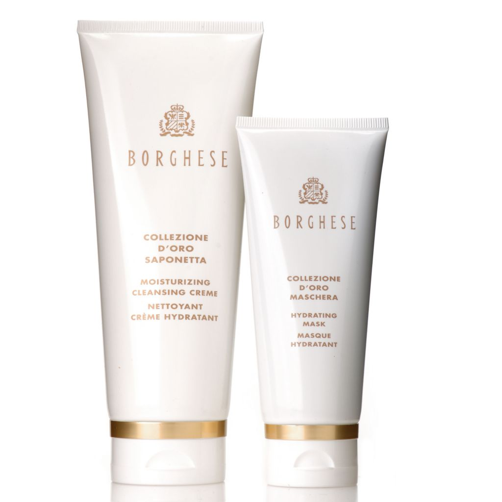 306-411 - Borghese Two-Piece Moisturizing Cleansing Creme & Hydrating Mask Set