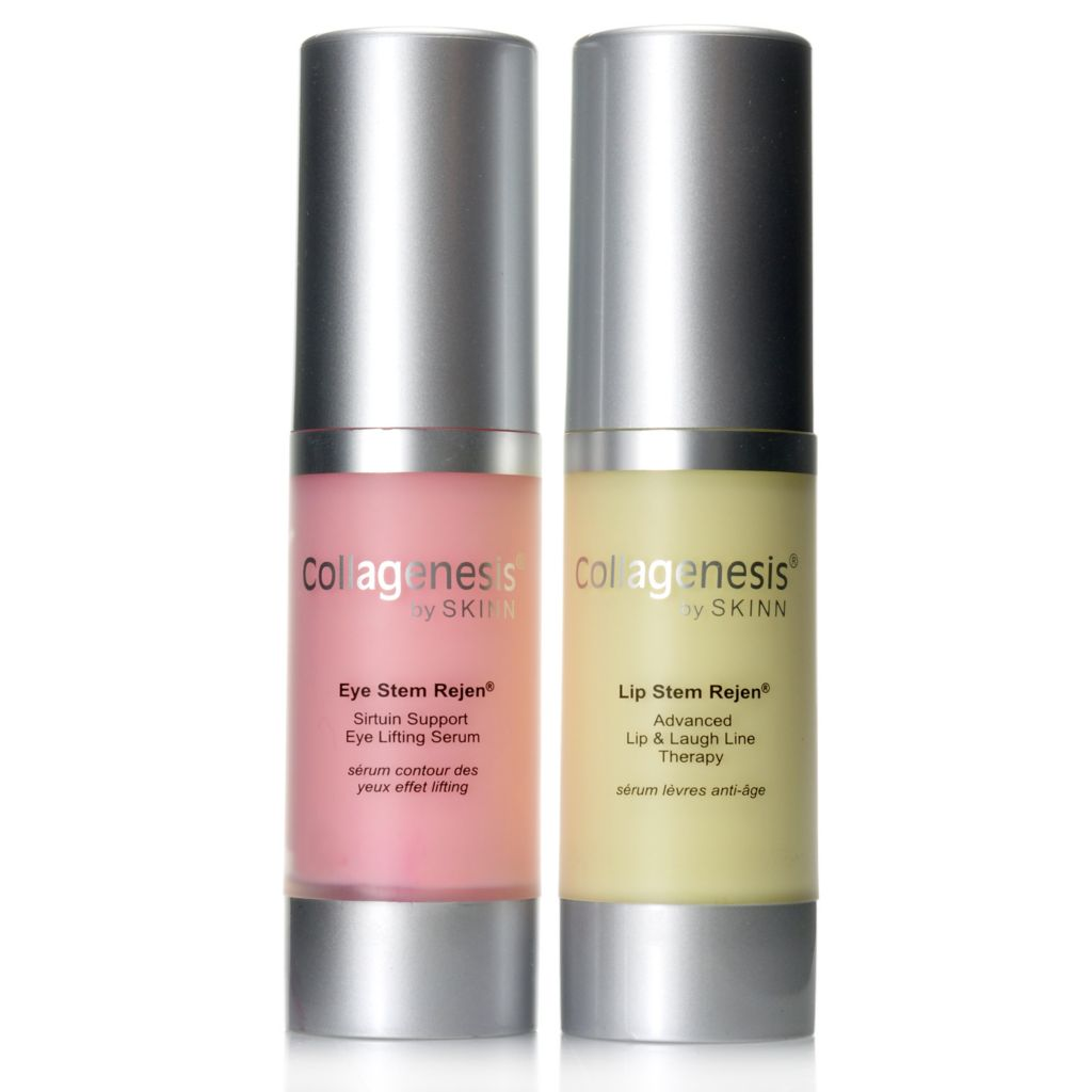 306-434 - Skinn Cosmetics Collagenesis Eye & Lip Targeted Stem Rejen Duo