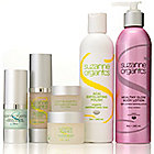 306-444 - Suzanne Somers Organics Six-Piece Ageless Essentials Head-to-Toe Skincare Kit