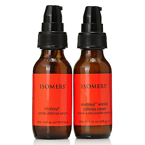 306-459 - ISOMERS® Wrinkle Defense Serum & Cream Duo for Collagen Support