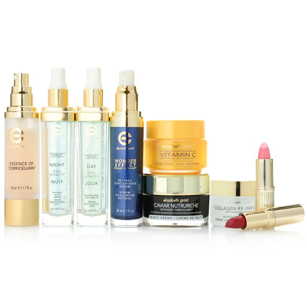 306-493 - Elizabeth Grant Best of 2013 Nine-Piece Anti-Aging Skincare & Lip Color Collection