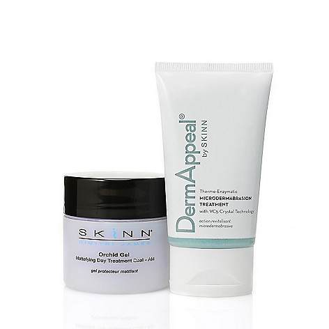 306-496 - Skinn Cosmetics DermAppeal Treatment & Orchid Gel Priming Duo